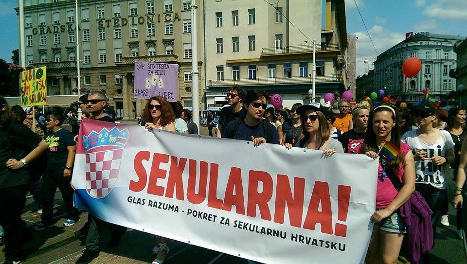 Sekularna banner Zg Pride 2014